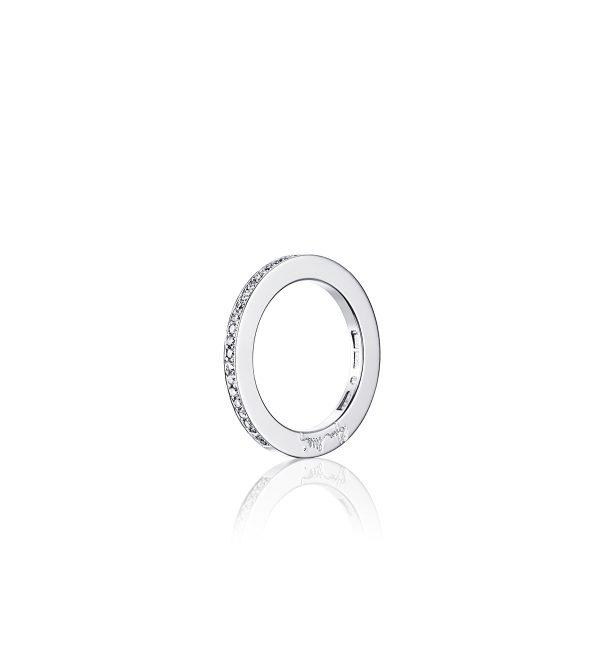 Efva Attling 21 Stars & Signature Ring Vitguld