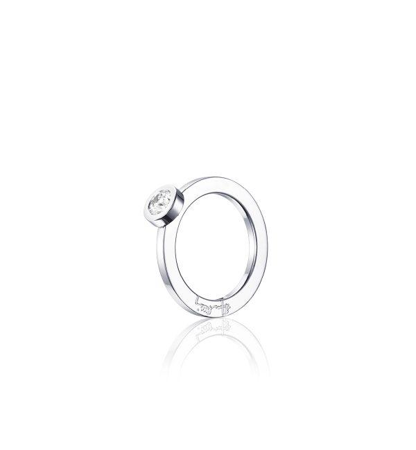 Efva Attling The Wedding Ring Vitguld 0,40 ct