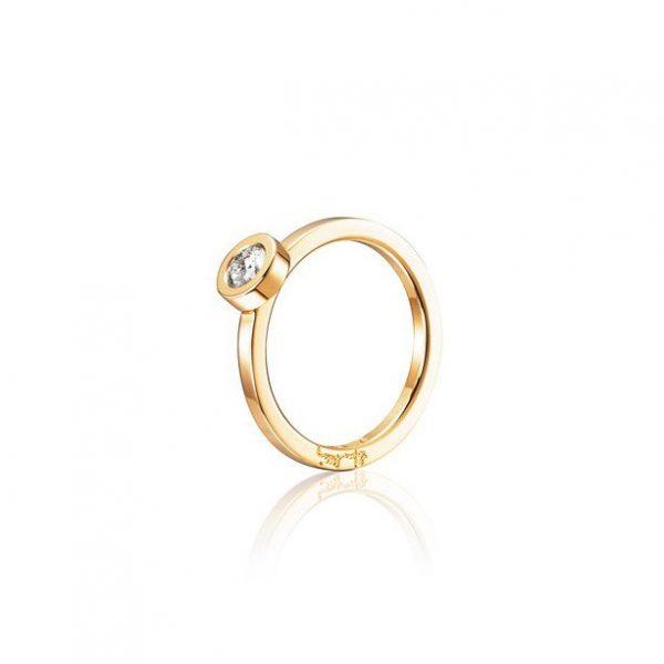 Efva Attling The Wedding Thin Ring Guld 0,30 ct