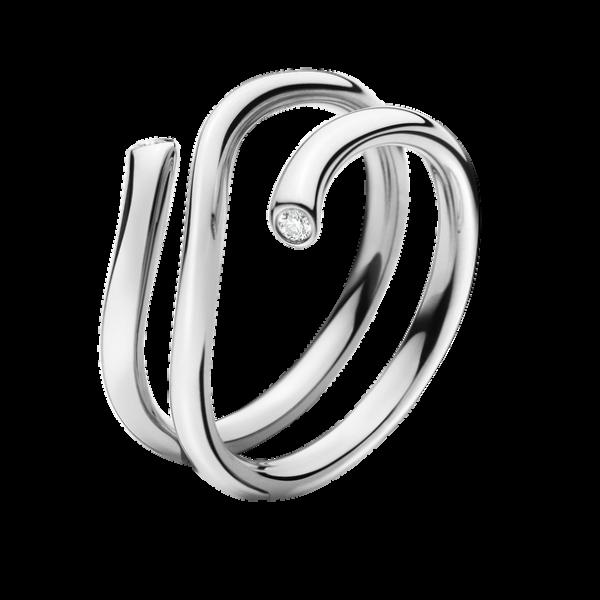 Georg Jensen Magic Combo Ring Vitguld